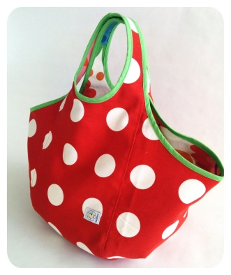 Tote bag reversible