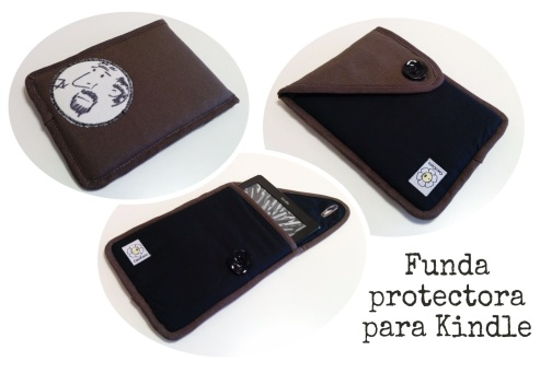 Funda kindle e-book