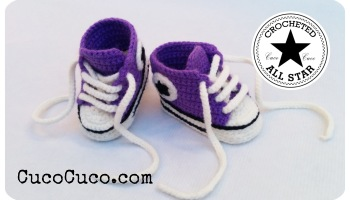 Sandalias o alpargatas a crochet para beb cucocuco patucos beb crocheted all star thecheapjerseys Choice Image