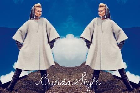 Chaqueton Poncho Burda Style