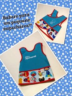Babero adaptable orignal superhéroes