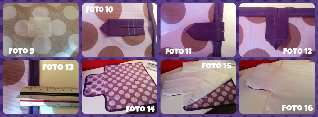 coser cambiador bebé paso a paso 2 - baby changing bag step by step