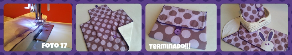 coser cambiador bebé paso a paso 3 - baby changing bag step by step
