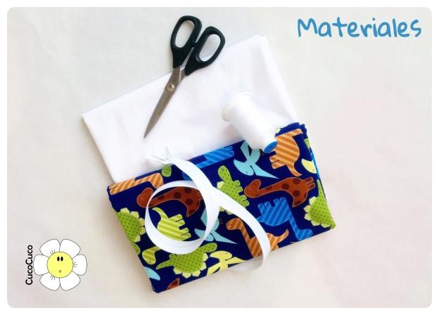 Materiales para bolsa de tela